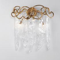 Klassische Wandleuchte / Glas / aus Bronze / LED