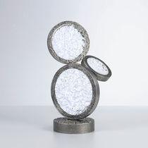 Tischlampe / modern / Glas / aus Bronze