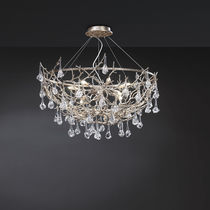 Hängelampe / originelles Design / Metall / Glas