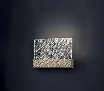 Moderne Wandleuchte / Metall / Glas / LED