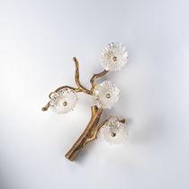 Wandleuchte / originelles Design / Metall / Glas / LED