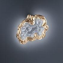 Wandleuchte / originelles Design / aus Aluminium / Glas / LED