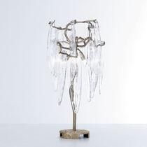 Tischlampe / klassisch / aus Bronze / aus Kristall