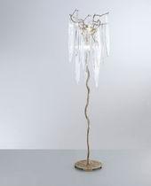 Lampe mit Fußgestell / originelles Design / aus Bronze / aus Kristall