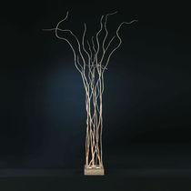 Lampe mit Fußgestell / originelles Design / aus Bronze / Innenbereich