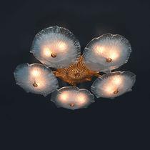 Klassische Deckenleuchte / aus Muranoglas / aus Bronze / LED