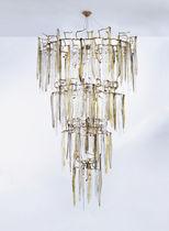 Hängelampe / klassisch / aus Bronze / aus Kristall