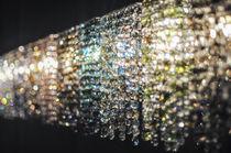 Moderne Wandleuchte / aus Kristall / handgefertigt