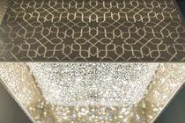 Moderner Lüster / aus Kristall / Halogen / handgefertigt