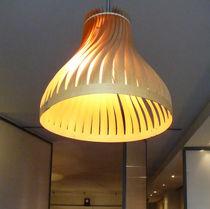Hängelampe / originelles Design / Holz / für Innenbereich