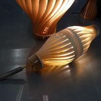Stehlampe / modern / Holz / für Innenbereich