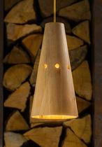 Hängelampe / modern / Holz / Innenbereich