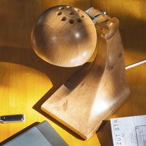 Tischlampe / modern / Holz / für Innenbereich