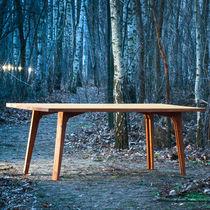 Standardtisch / Holz / rechteckig / für Innenbereich