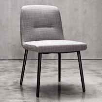 Moderner Stuhl / Polster / ergonomisch / Stoff