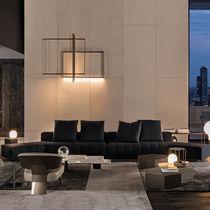 Modernes Sofa / Leder / Stoff / Von Rodolfo Dordoni