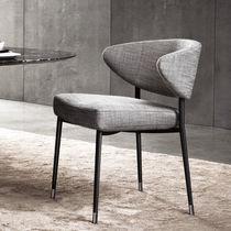 Moderner Stuhl / Polster / Stoff / von Rodolfo Dordoni