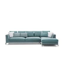 Modulierbares Sofa / modern / Außenbereich / Stoff