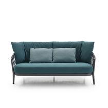Modernes Sofa / für den Garten / Stoff / Synthetikfaser