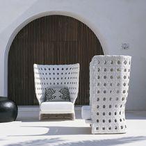 Moderner Sessel / Stoff / Polyethylen / Hochlehner