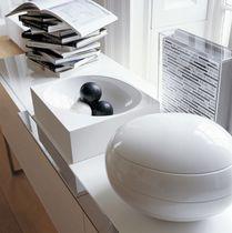 Tisch-Ablagefach / aus Acrylharz / von Naoto Fukasawa