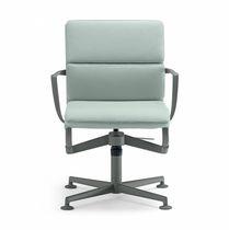 Moderner Bürostuhl / mit Armlehnen / Polster / drehbar