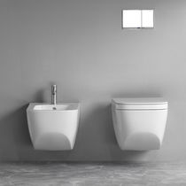 Hängendes WC / Keramik / Spülrandlos
