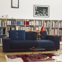 Kompaktes Sofa / modern / Holz / Gewebe