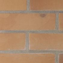 Klinkerriemchen / für Fassaden / glatt / Dekor