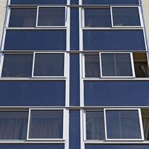 Fenster zum Schieben / Aluminium / Doppelverglasung / Wärmedämmungen