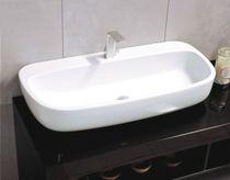Aufsatzwaschbecken / Keramik / modern