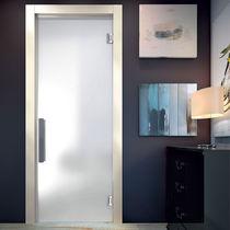 Innenbereich-Tür / Flügeltüren / Hartglas / automatisch