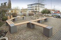2017 Gartenbank Modern Beton