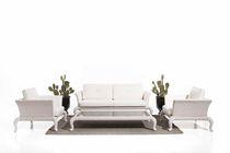 Klassisches Sofa / Garten / aus Rattan / 2 Plätze