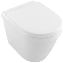 Freistehend-WC / aus Keramik / Spülrandlos