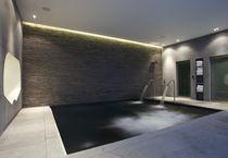 Erdverlegtes Schwimmbecken / Beton / Innenraum
