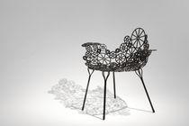 Sessel / originelles Design / Stahl / Garten