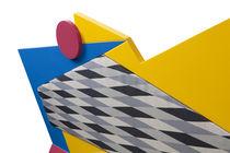 Sofa / originelles Design / außen / Holz / Polyethylen