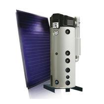 Gas-Heißwasserspeicher / Solar / Aufsatz / Vertikal