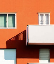 Schutzfarbe / Fassade / fûr Beton / Gips
