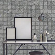 Moderne Tapeten / Vinyl / mit geometrischem Muster / Karomuster