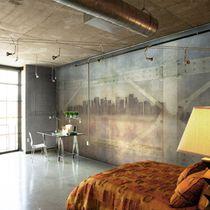 Industriestil-Tapeten / Vinyl / mit städtischen Motiven / mit Panorama