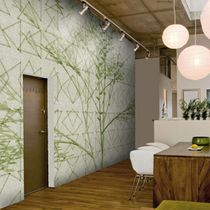Moderne Tapeten / Vinyl / Blumen / mit Naturmotiv