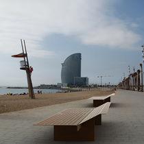 Moderne Sonnenliege / verzinkter Stahl / für öffentliche Bereiche