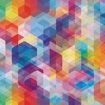 Moderne Tapeten / mit geometrischem Muster / bedruckt