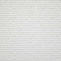 Wandverkleidung aus Corian® / für berufliche Nutzung / strukturiert / 3-D Effekt