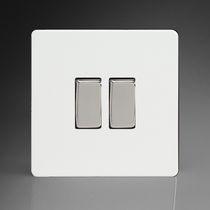 Wippschalter / doppelt / Thermoplast / modern