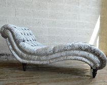 Chesterfield-Liege / Textil / Holz / für Innenbereich