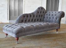 Chesterfield-Liege / Textil / für Innenbereich / für Wohnbereich