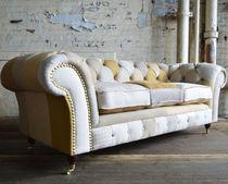 Chesterfield-Sofa / Textil / 2 Plätze / 3 Plätze